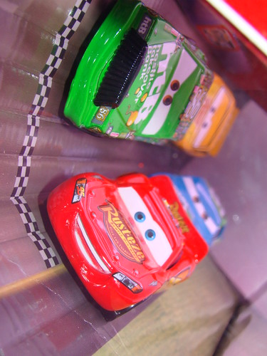 Disney CARS Target Racing 4 Pack (3)