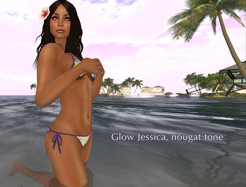 Glow Jessica nougat tone