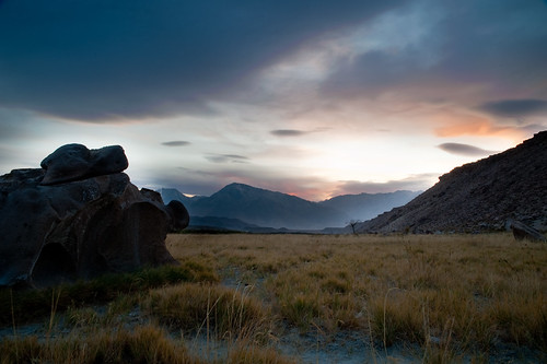 Sunset in Bishop California