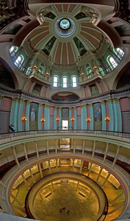 Old St. Louis County Courthouse's Interior