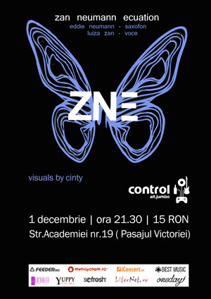 VJ-ing w/ ZNE @ control on Tue, Dec 1st