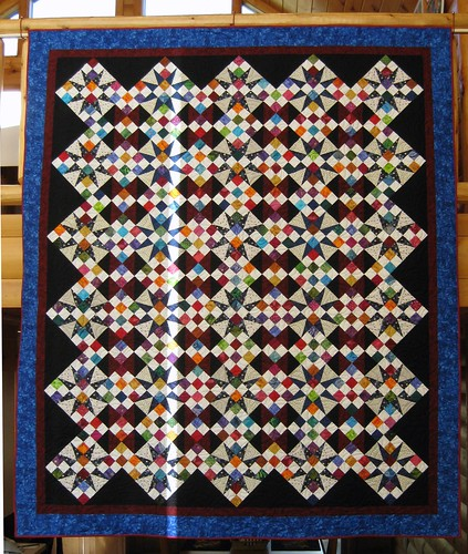 Full View of Finished Quilt