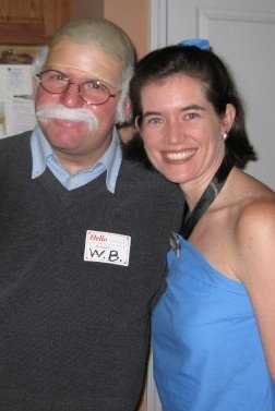 Wilford Brimley and Betty Rubble
