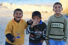 Tre söta sexåringar på Gaza