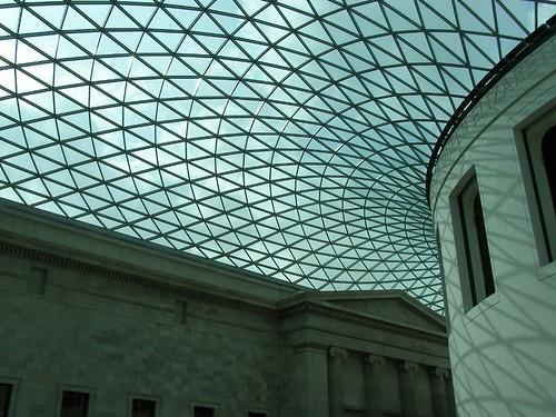 El techo del Museo Británico