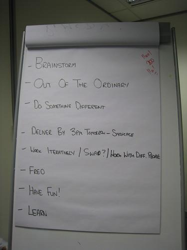 Melbourne GI Developer Day Rules