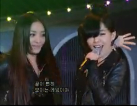 Even Narsha is mesmerized by Ga-in.