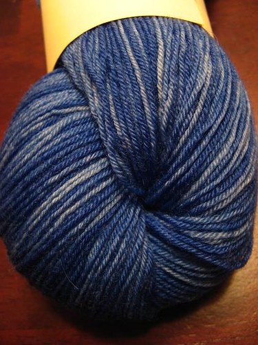 Blue Superwash BFL