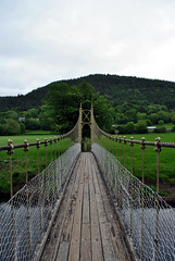 Suspension bridge Betws-y-Coed 4