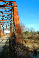 Poteau, Oklahoma, Rusted Bridge