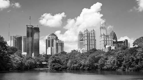 50mm 1.8 Atlanta Midtown Skyline