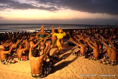 Bali beach - cultural show
