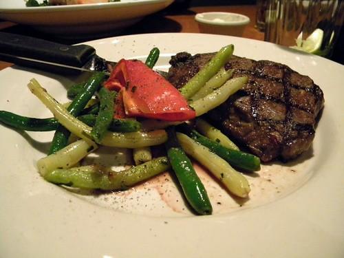 Sirloin steak + veggies