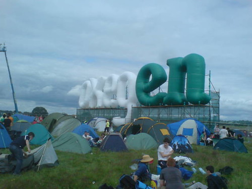 Oxegen Sign Inflated