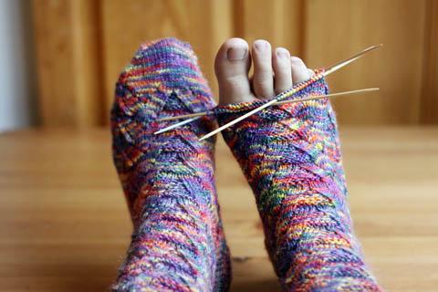 WIP: Monkey Socks