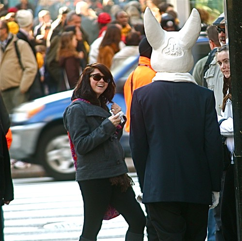 new york city man bunny suit 2