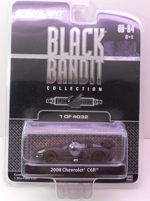 greenlight black bandit 2008 chevrolet C6R (1)