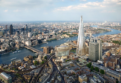 CGI view of Shard London Bridge