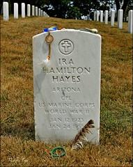 Ira Hayes, Arlington National Cemetery (Native-American Hero)