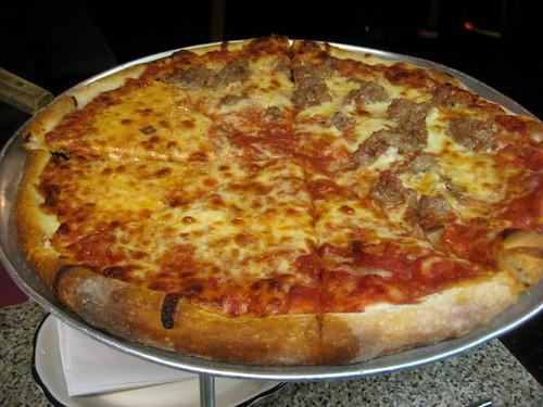Salerno's Apizza A pizza!