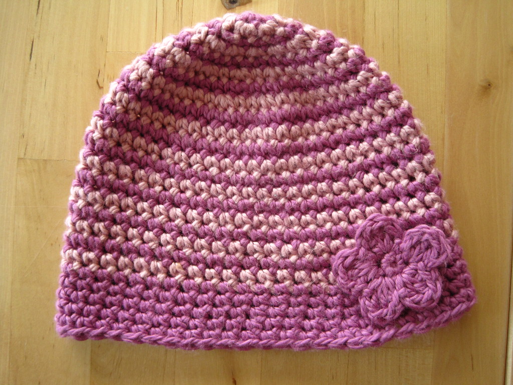 Free Crochet Pattern Multi Colored Hat : free patterns and tutorials The little house by the sea