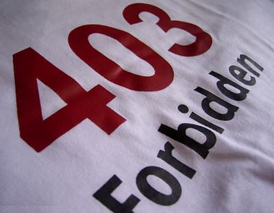 403 forbidden