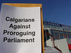 Calgarians Against Proroguing Parliament