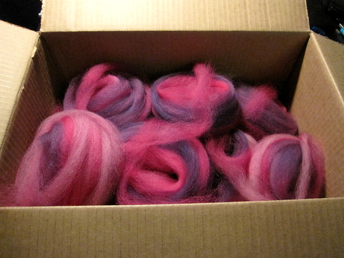 Pink and Purple Spinning