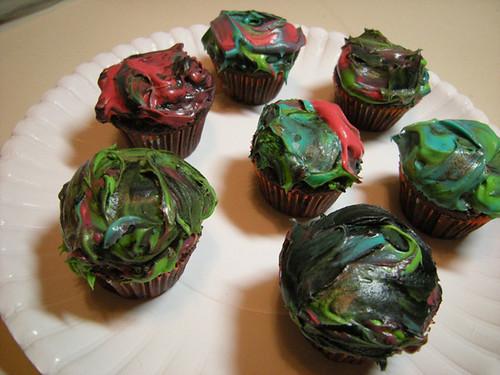 Marbley Cupcakes