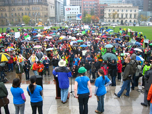 Climate Change Demonstration, Ottawa, Canada