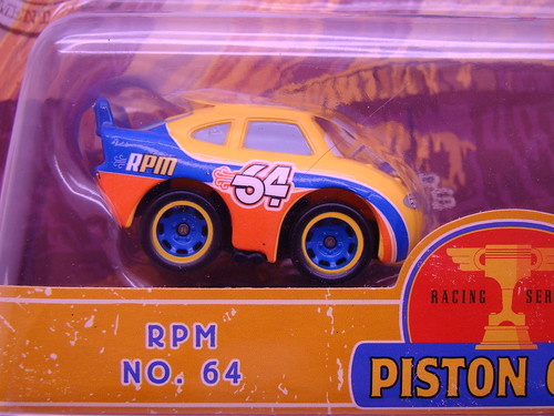 Disney CARS mini adventures shiny wax RPM64 (2)