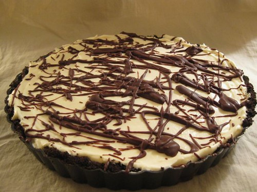 Double Chocolate Mint Pie