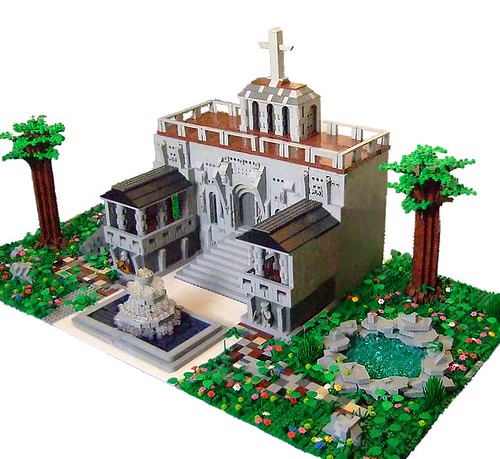 LEGO temple by Dylan B.
