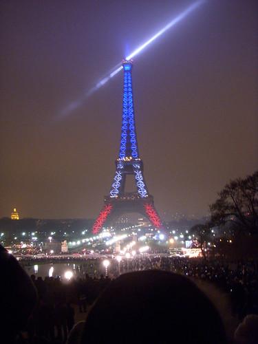 Eiffel Tower on NYE