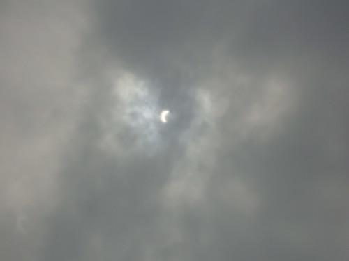 teilweise Sonnenfinsternis in Busan
