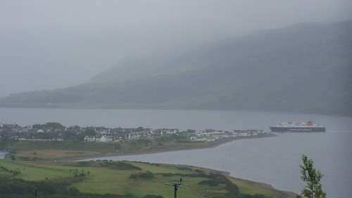 "The Hebridean ferry ""Isle of Lewis"" arriving at Ullapool"