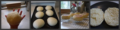 English Muffin Collage