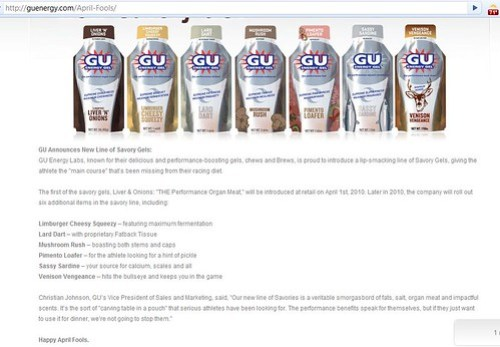 Gu New Flavors Screen Shot
