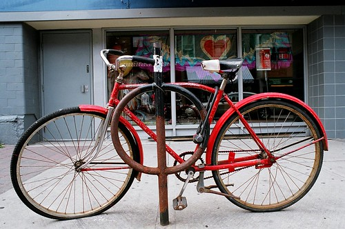 """I Heart Rusty O's and Bikes"" by Georgie_grrl"