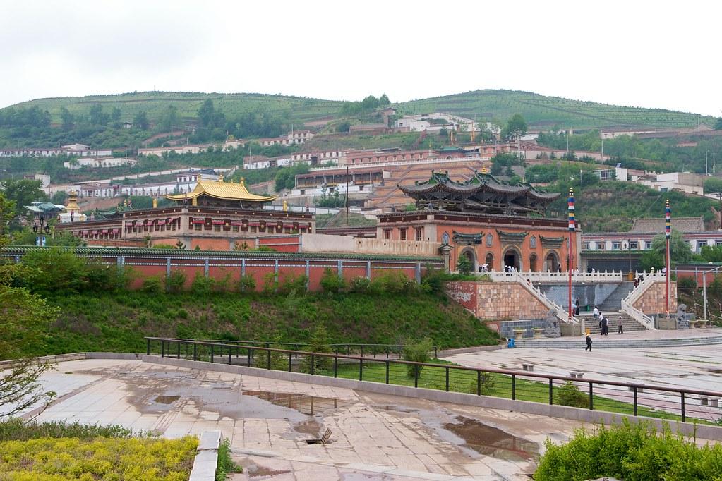 Le monastère de Kumbum / Ta'er Si près de Xining © Paul Ark