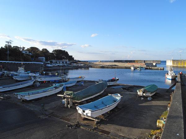 小舟渡漁港 4