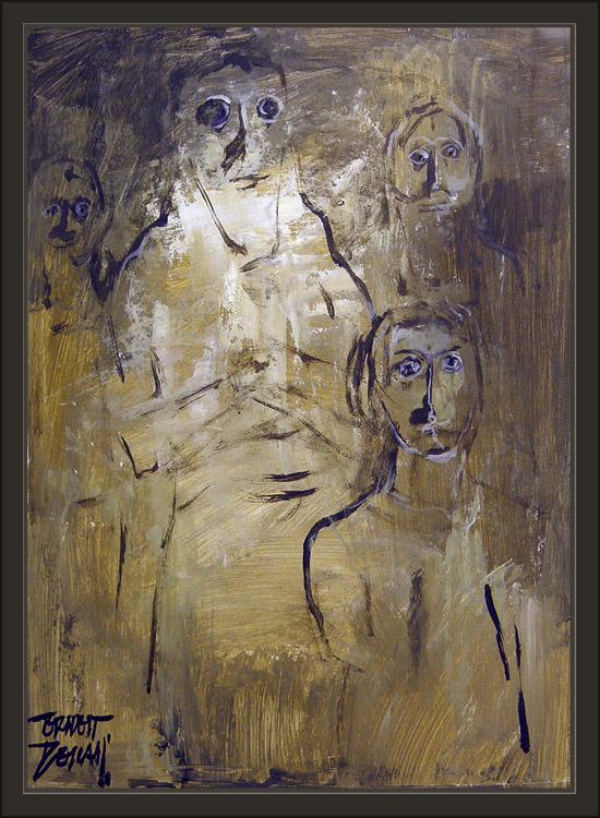 ANCIENT SUMERIAN GODS-ANUNNAKI-ANNUNAKI-NIBIRU-ARTIST ERNEST DESCALS-PAINTINGS