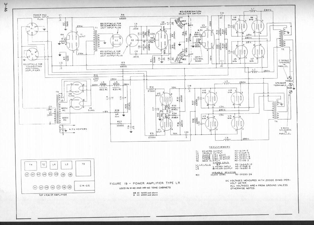 Hammond B3 Pre Schematic, Hammond, Get Free Image About