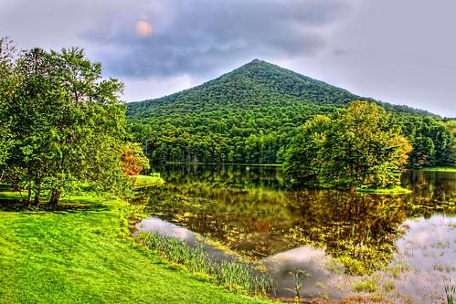 Reflecting Sharptop Mountain