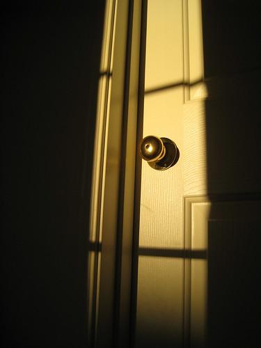Presenting the door