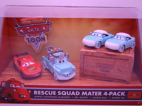 Cars Toons 4 pack hospital