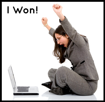 happy winner