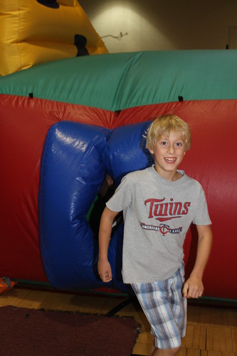 Running Out Of Inflatable Maze