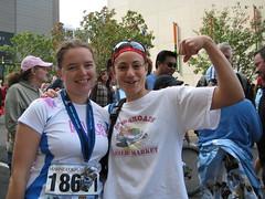 Ellen and Rhea kick booty
