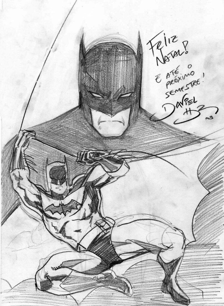 Batman sketch 2009